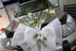 свадебная машина, украшение