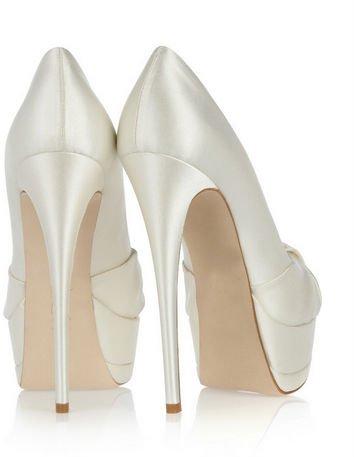 2015: купить белые туфли на свадьбу