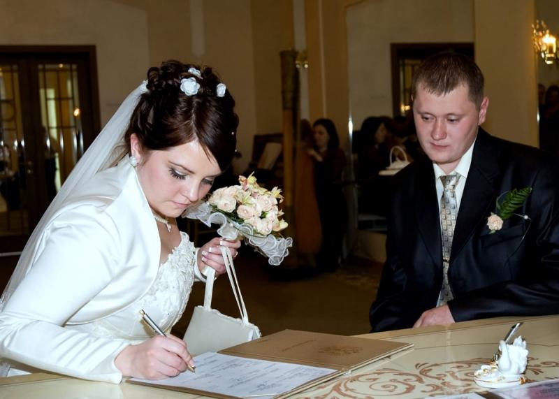 любом что взять в загс на регистрацию брака комнату рядом