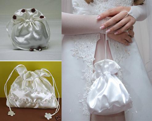 Все о свадебных сумочках своими руками