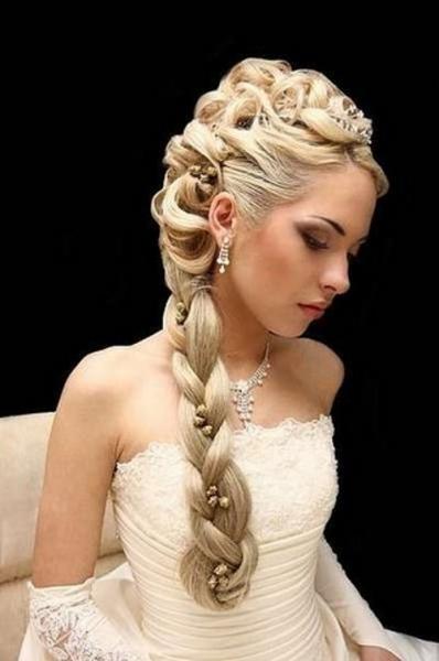 Свадебные прически, Омск